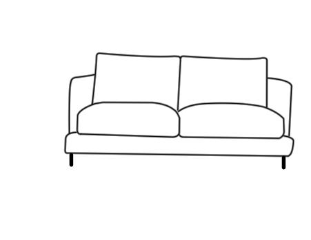 Photoshop技巧 ps怎么画一个简笔画沙发 ps沙发