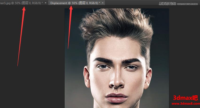 合成人物脸部逼真彩绘图案的PS教程