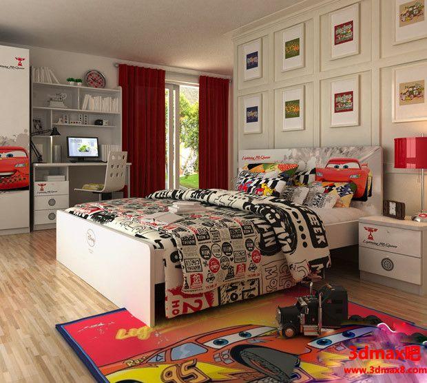 儿童房设计09802