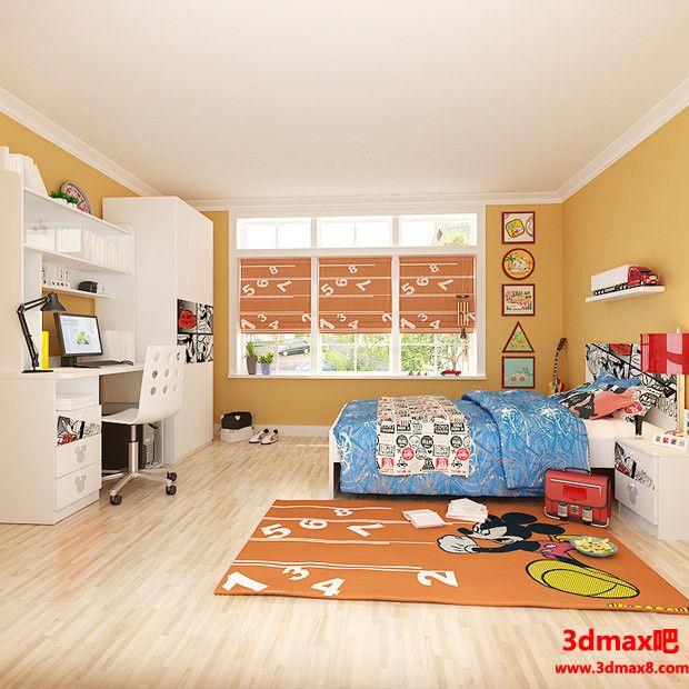 儿童房设计09801