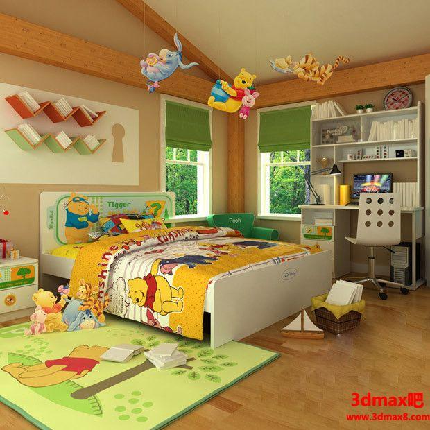 儿童房设计09804