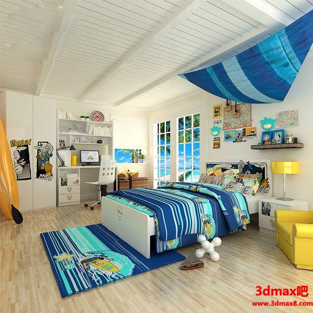儿童房设计09803