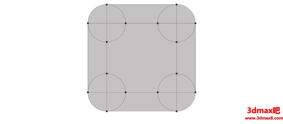 制作方形逼真华为手机图标的PS实例教程
