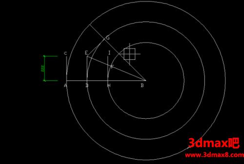 CAD中45°弯头的画法.png