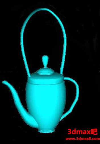 CAD怎么画酒壶?
