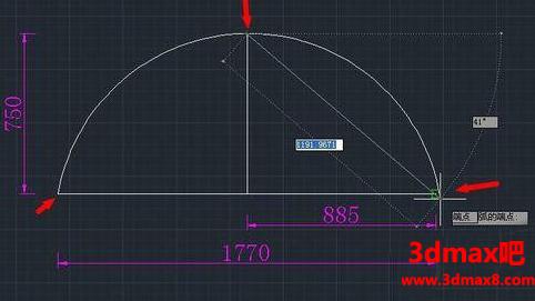 CAD如何根据已知条件设计图形